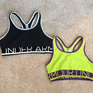 Set of 2 - Youth Girls Athletic Sports Bras